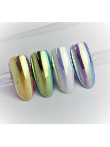 Радужный пигмент для дизайна ногтей LUX