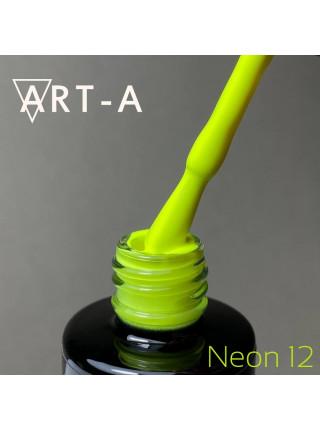 Гель-лак Art-A серия Neon №12, 8мл