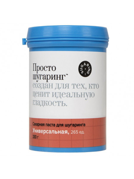 Gloria Сахарная паста для депиляции универсальная Просто Шугаринг, 0,33 кг