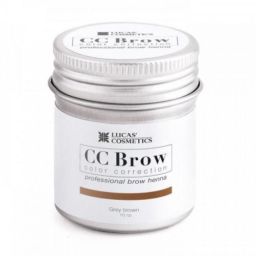 Хна для бровей CC Brow (grey brown) в баночке (серо-коричневый), 5 гр в Кирове