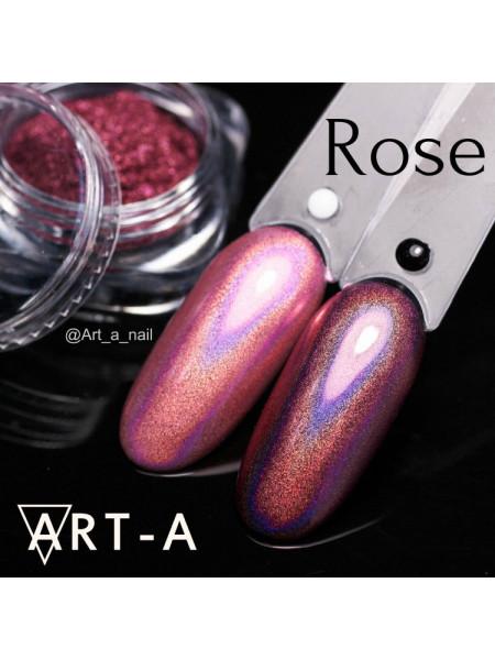 Голографический пигмент для ногтей МИРАЖ Rose 0,3гр