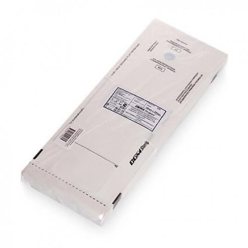 Пакеты бумажные самозапечатывающиеся для стерилизации DGM STERIGUARD 100x250 мм (белые) 100 шт. в Кирове