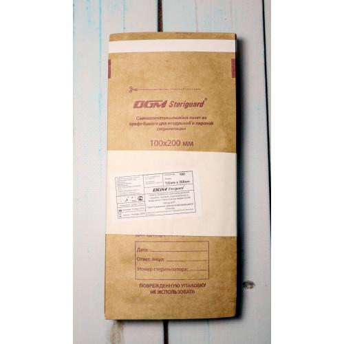 Пакеты из крафт-бумаги самозапечатывающиеся для стерилизации DGM STERIGUARD 100x200 (100 шт.) в Кирове