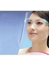 Экран защитный для мастера, 1 оправа (цвет в ассортименте) + 1 щиток для лица