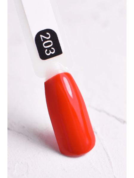 Гель-лак FOR YOU № 203 красный апельсин